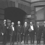 Our family history researcher's ancestor is shown at a 1926 reunion of Civil War  veterans from his fighting group