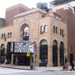A main theatre on Second Avenue has been restored and is now a movie house.