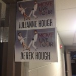The two amazing dancers, the Hough siblings, have a lineage of dancers and athletes. CREDIT: c 2014 Move Live on Tour