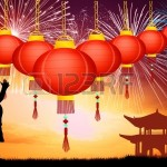 What began in China has become a traditional way to celebrate major days