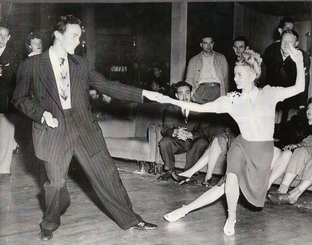 Jean Dancing on Jitterbug Dance History