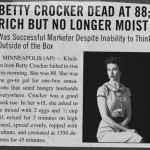 betty crocker obit
