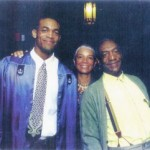 Bill Cosby, his wife Camille and their family faced a disaster--both personal and genealogical--with the murder of only son Ennis, center, at age 27.
