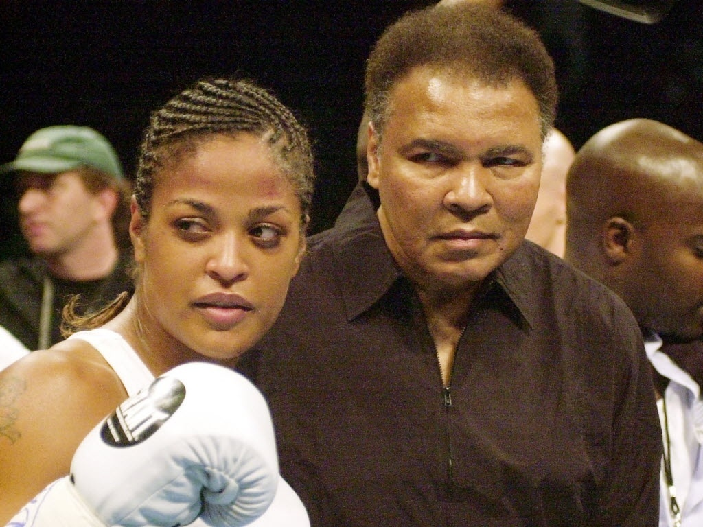 Laila Ali And Muhammad Ali Jr A Close Look at Laila ...
