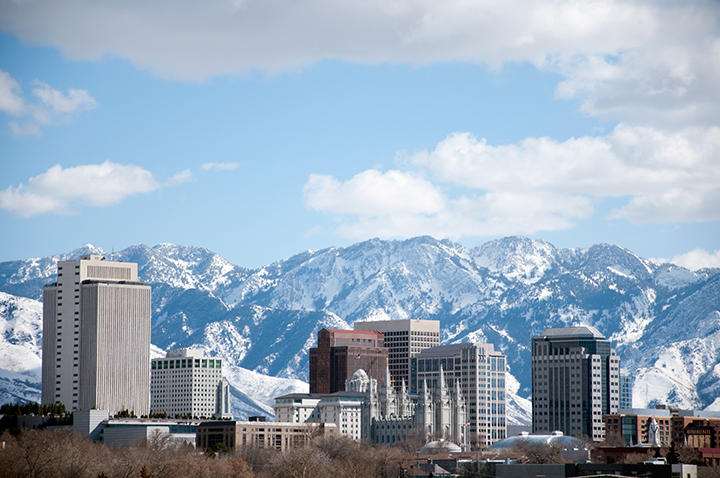 Salt Lake City Genealogy: Then and Now - Salt Lake City Genealogy - Then And Now
