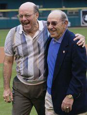 Yogi and Joe nowadays. PHOTO: USA Today