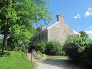 Here is where Daniel Boone (and his family) resided for a time.