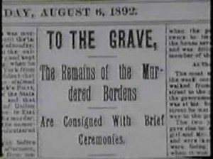 Local reports noted the demise of the Bordens.